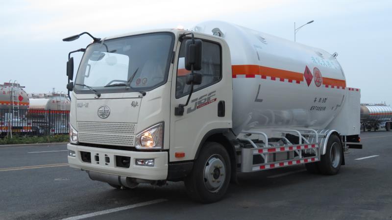9立方小型LNG運輸車