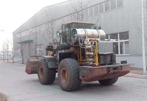 装载机LNG改造流程方案